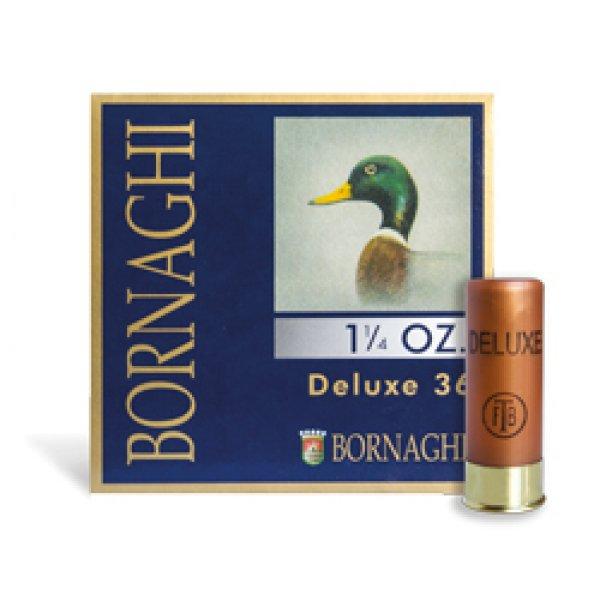 Cartus cu alice cal. 12/70, BORNAGHI Deluxe 36, 4.5mm (4/0), 36.00g