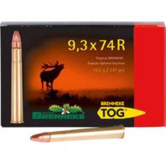 Cartus cu glont cal. 9.3x74 R, BRENNEKE Tog, 16.00g (Tog, 16.00g (cal. 9.3x74 R)) - Munitii carabine - Brenneke (by www.mldguns.ro)