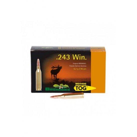 Cartus cu glont cal. 243 Win, BRENNEKE Tog, 6.20g (Tog, 6.20g (cal. 243 Win)) - Munitii carabine - Brenneke (by www.mldguns.ro)