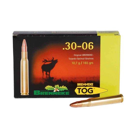 Cartus cu glont cal. 30-06, BRENNEKE Tog, 10.70g (Tog, 10.70g (cal. 30-06)) - Munitii carabine - Brenneke (by www.mldguns.ro)