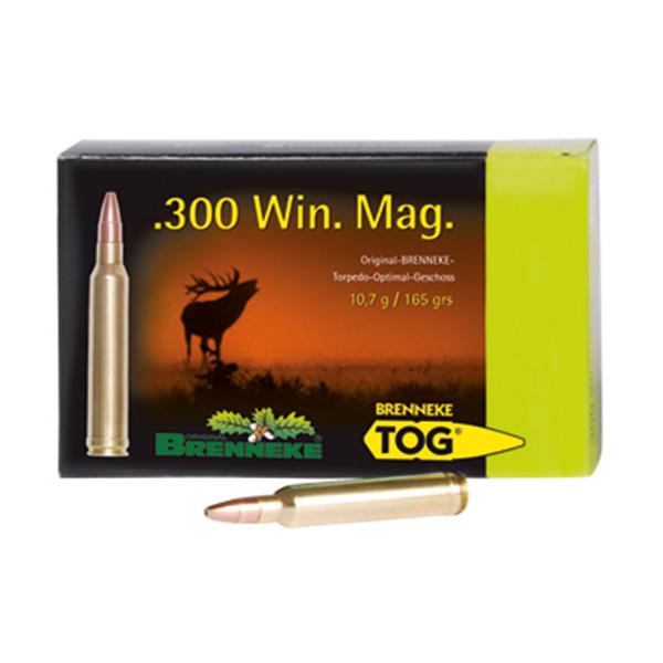 Cartus cu glont cal. 300 Win-Mag, BRENNEKE Tog, 10.70g