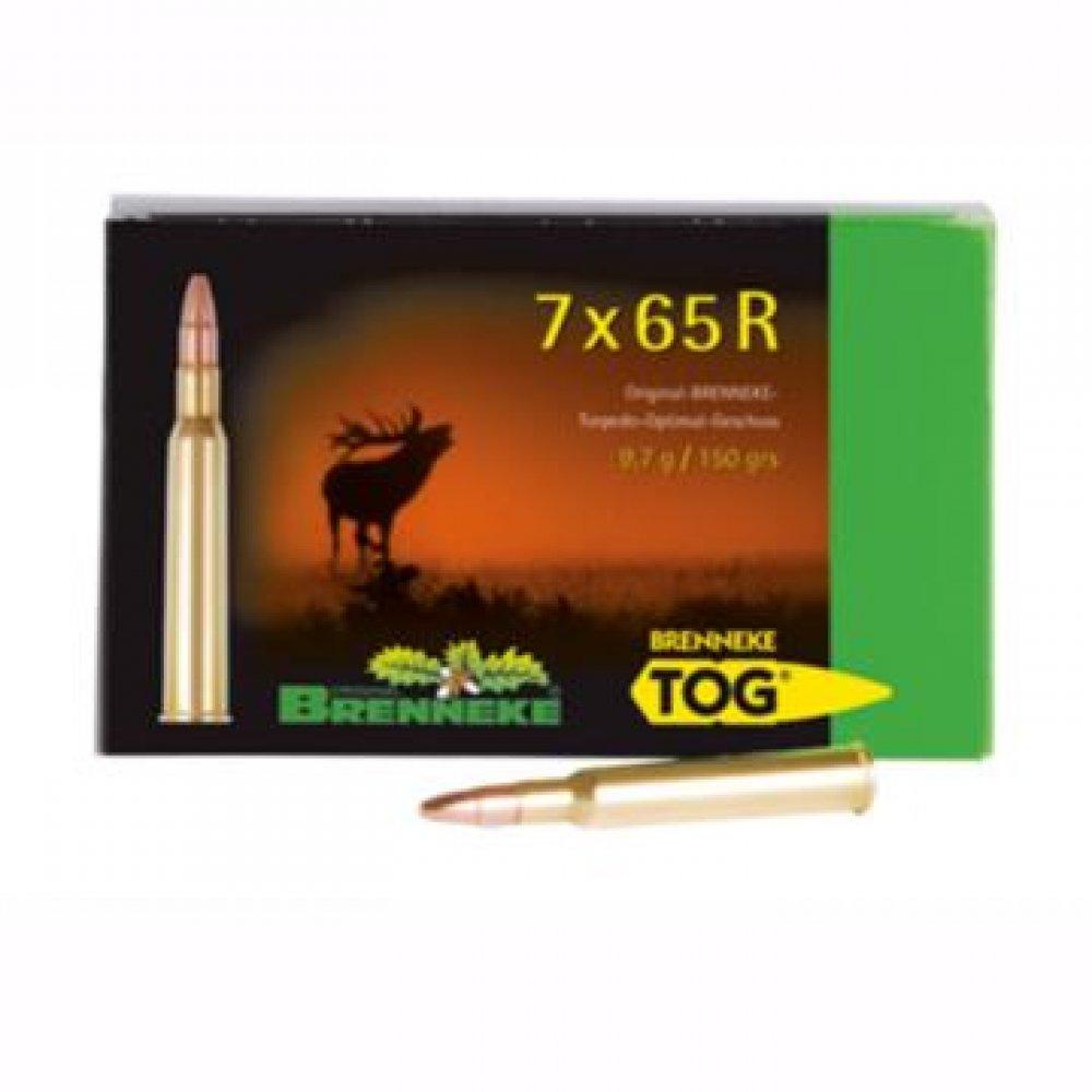 Cartus cu glont cal. 7x65 R, BRENNEKE Tog, 9.70g (Tog, 9.70g (cal. 7x65 R)) - Munitii carabine - Brenneke (by www.mldguns.ro)