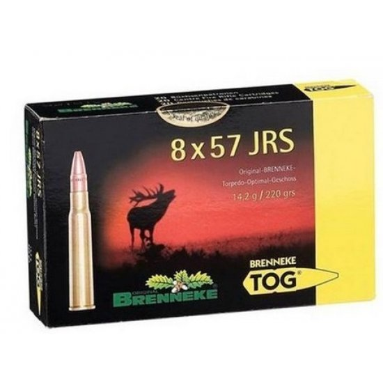 Cartus cu glont cal. 8x57 JRS, BRENNEKE Tog, 14.20g (Tog, 14.20g (cal. 8x57 JRS)) - Munitii carabine - Brenneke (by www.mldguns.ro)