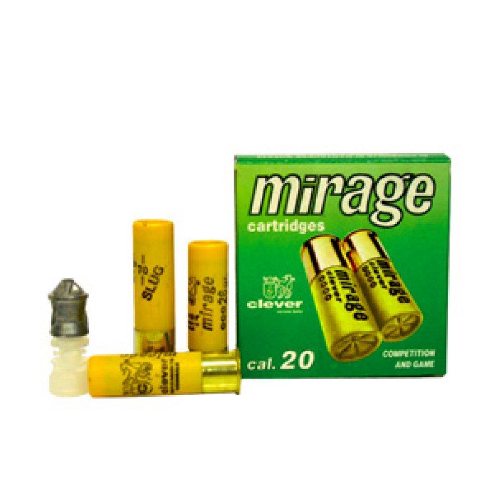 Proiectil unic cal. 20/70, CLEVER Mirage Slug, 26.00g (Mirage Slug, 26.00g (cal. 20/70)) - Munitii arme lise - Clever (by www.mldguns.ro)