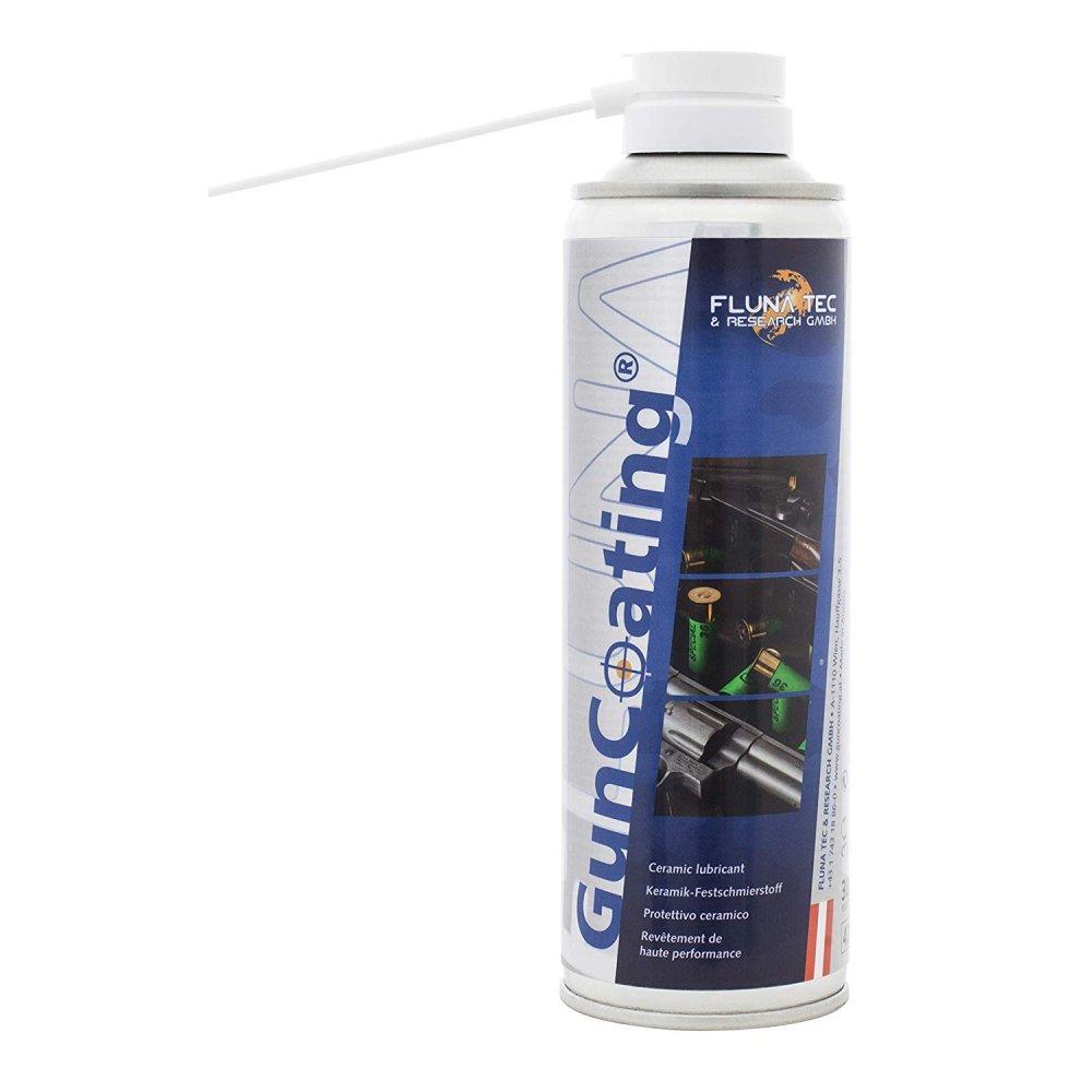 Solutie pentru lubrifiat FLUNA GunCoating - spray (100ml) (GunCoating) - Solutii pentru intretinere - Fluna Tec (by www.mldguns.ro)