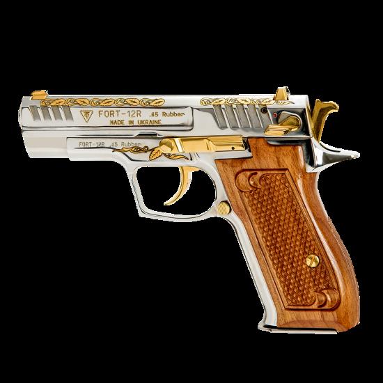Pistol cu bile de cauciuc, personalizat, FORT 12R.03-2 - cal. .45 Rubber (12R.03-2) - Arme cu bile de cauciuc - Fort (by www.mldguns.ro)