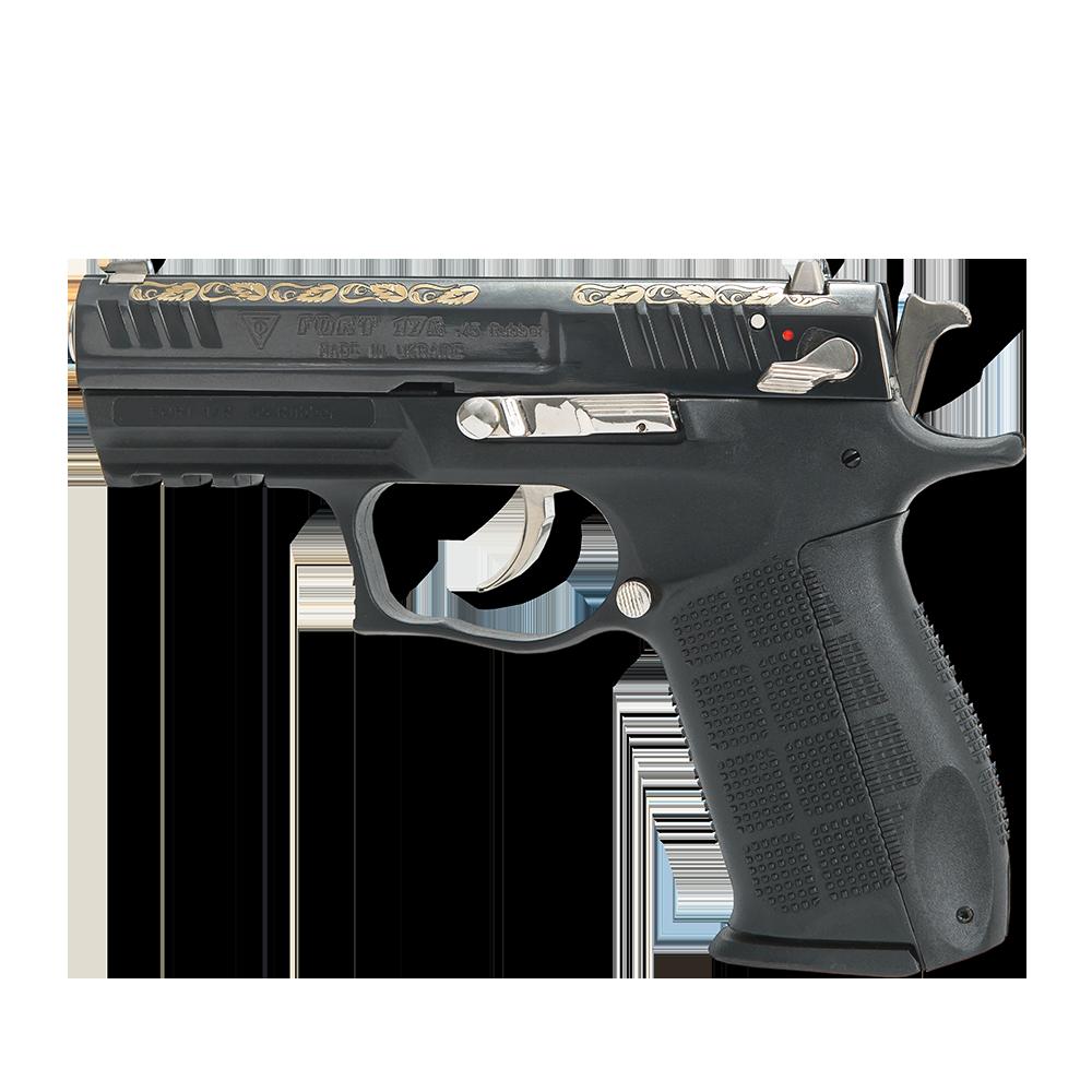Pistol cu bile de cauciuc, personalizat, FORT 17R.04 - cal. .45 Rubber (17R.04) - Arme cu bile de cauciuc - Fort (by www.mldguns.ro)