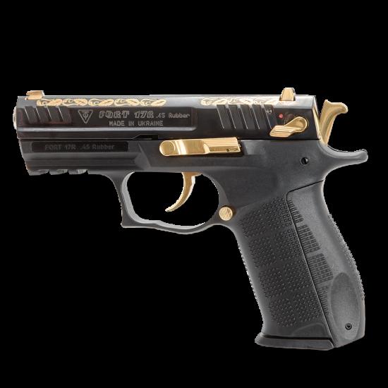 Pistol cu bile de cauciuc, personalizat, FORT 17R.05 - cal. .45 Rubber (17R.05) - Arme cu bile de cauciuc - Fort (by www.mldguns.ro)