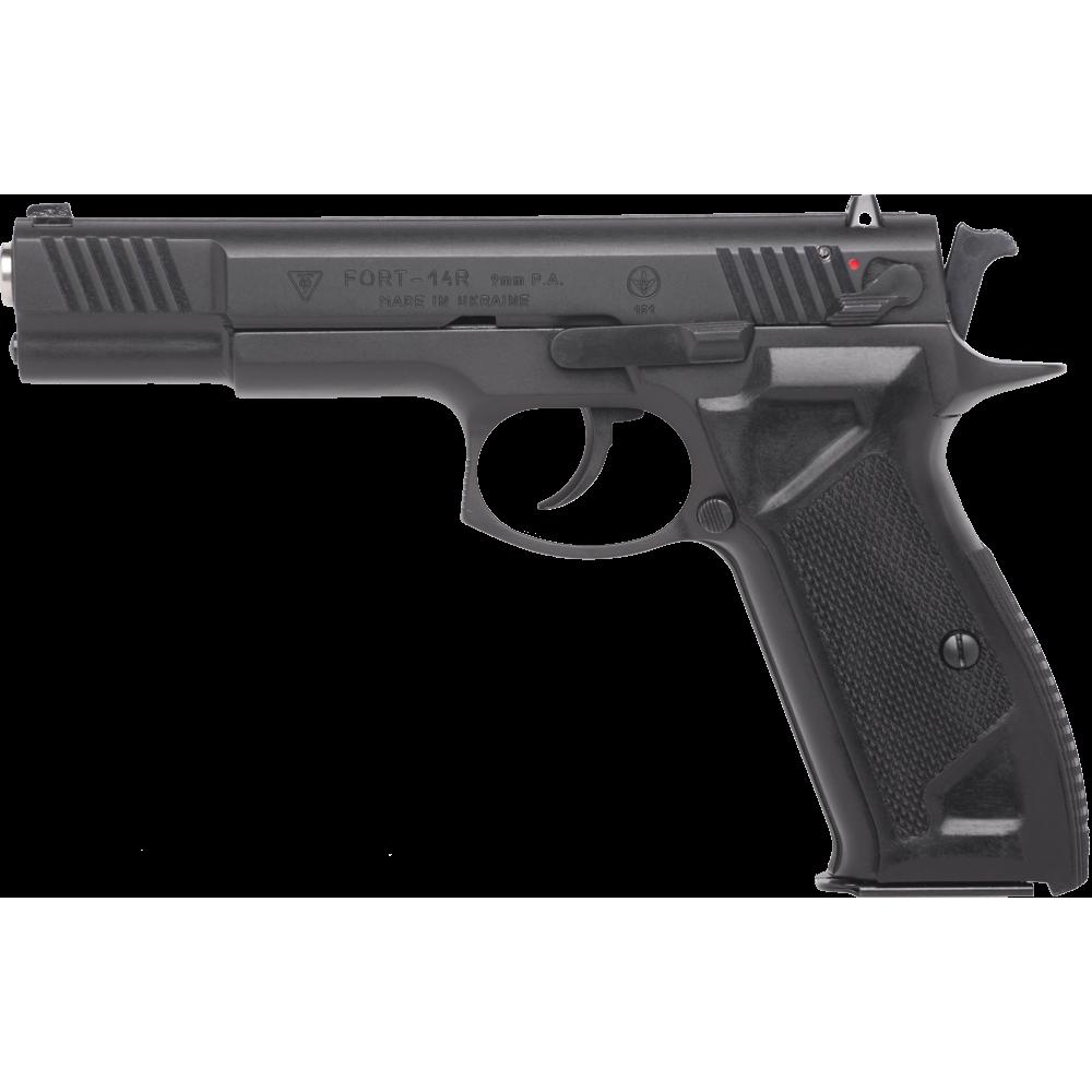 Pistol cu bile de cauciuc FORT 14R - cal. 9mm P.A. (14R - 9 mm) - Arme cu bile de cauciuc - Fort (by www.mldguns.ro)