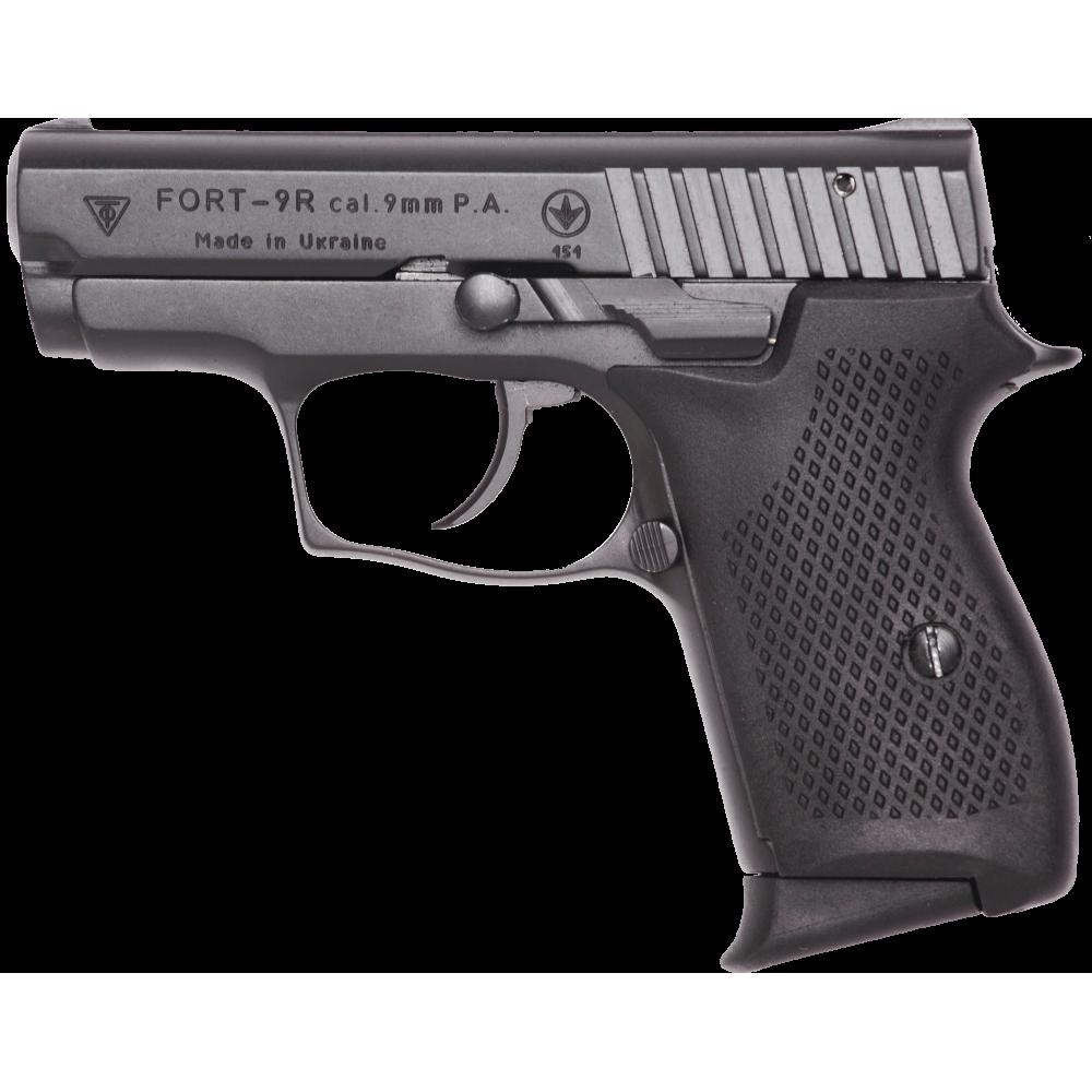 Pistol cu bile de cauciuc FORT 9R - cal. 9mm P.A. (9R - 9 mm) - Arme cu bile de cauciuc - Fort (by www.mldguns.ro)