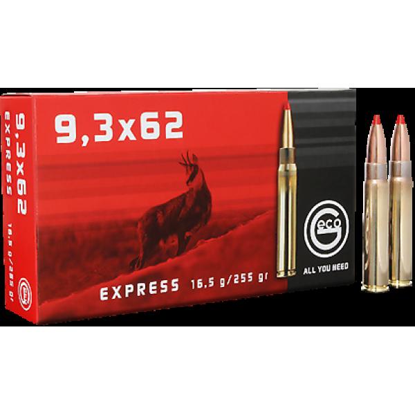 Cartus cu glont cal. 9.3x62, GECO Express, 16.50g