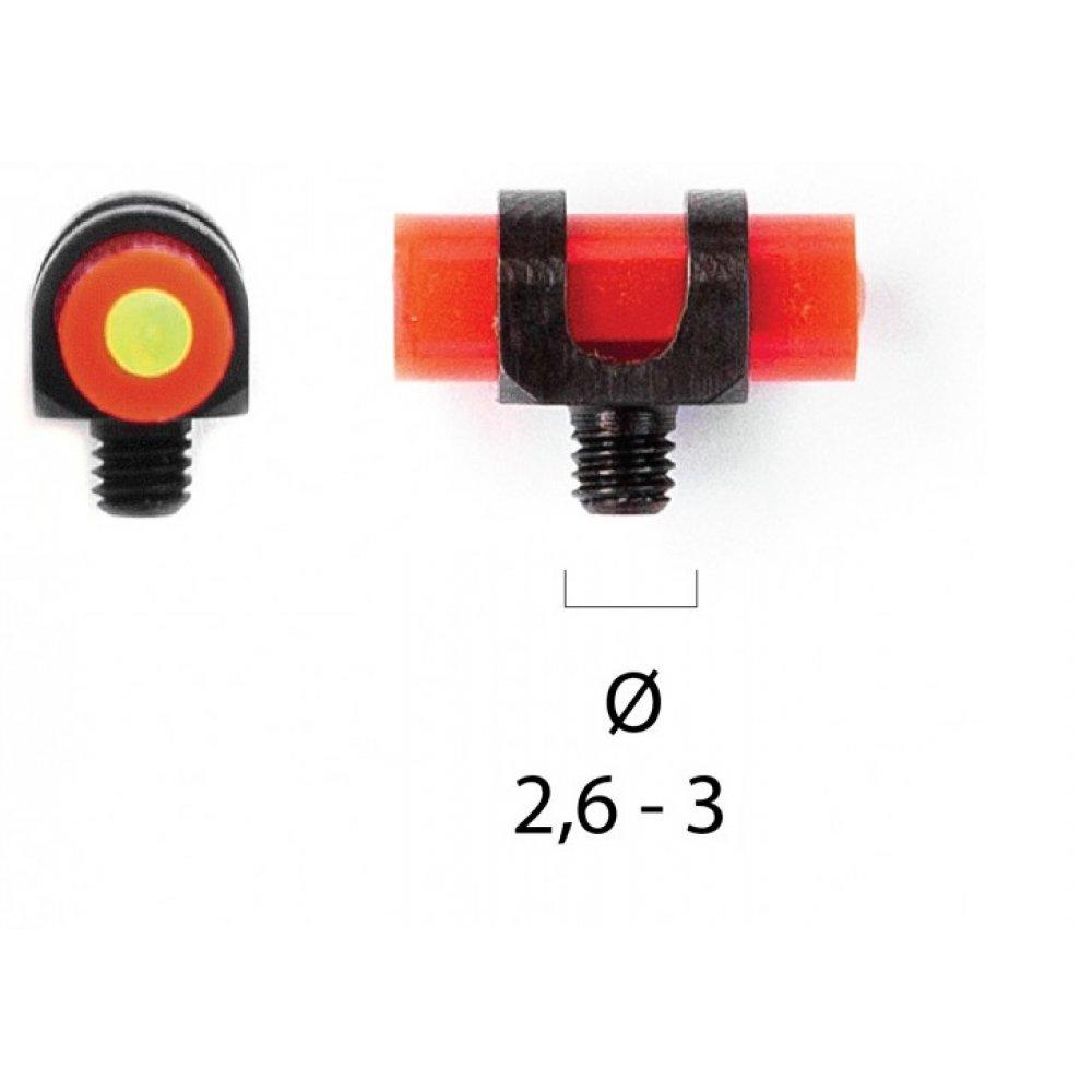 Catare cu fibra optica - doua culori (rosie / verde) (catare) - Accesorii -  (by www.mldguns.ro)