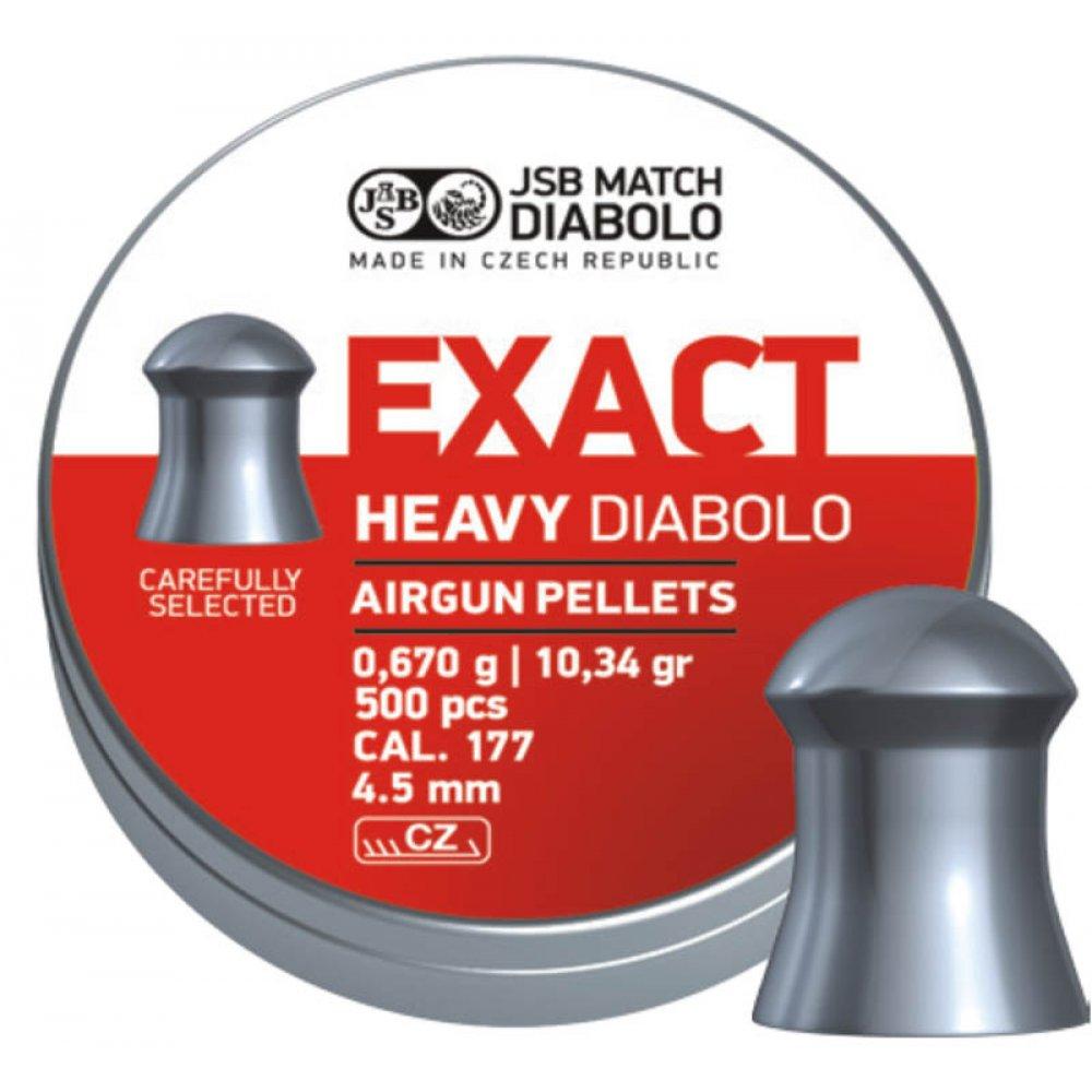 Cutie alice cal. 4.5mm, JSB Exact Heavy, 0.67g (500 alice)