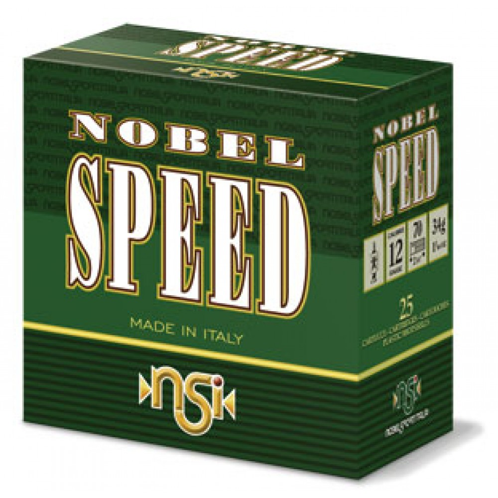 Cartus cu alice cal. 20/70, NSI Nobel Speed, 2.9mm (5), 28g