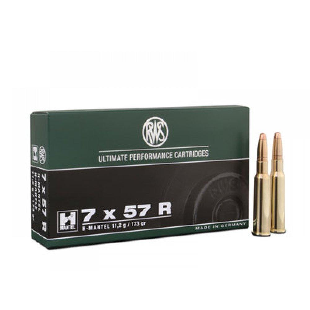 Cartus cu glont cal. 7x57 R, RWS H-Mantel, 11.20g (H-Mantel, 11.20g (cal. 7x57 R)) - Munitii carabine - RWS (by www.mldguns.ro)