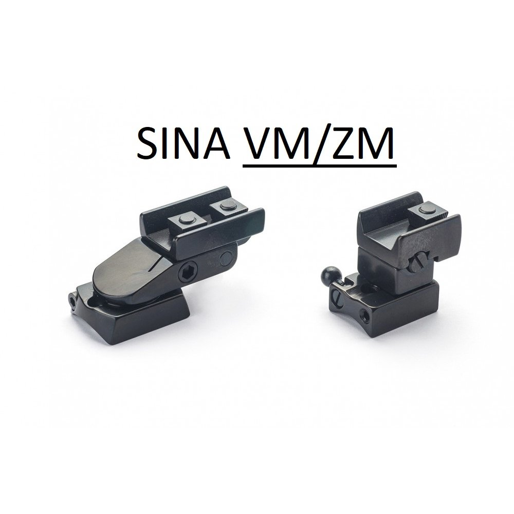 Suport pivotant luneta cu sina RUSAN-MIKRON pt. Remington (Pivotant sina Remington) - Suporti Remington - Rusan-Mikron (by www.mldguns.ro)
