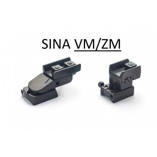 Suport pivotant luneta cu sina RUSAN-MIKRON pt. Tikka T3 (Pivotant sina Tikka T3) - Suporti Tikka T3 - Rusan-Mikron (by www.mldguns.ro)
