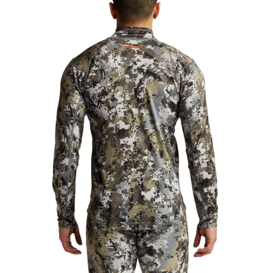 Bluza Sitka Core Midweight Zip T, camuflaj Optifade Elevated II (Core Midweight Zip T) - Haine de Corp - Sitka (by www.mldguns.ro)
