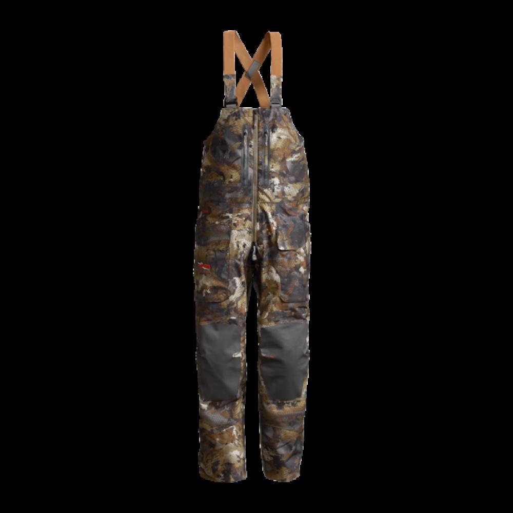 Salopeta Sitka Hudson Bib, camuflaj Optifade Timber (Hudson Bib) - Pantaloni - Sitka (by www.mldguns.ro)
