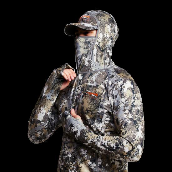 Bluza Sitka Fanatic Hoody, camuflaj Optifade Elevated II (Fanatic Hoody) - Haine de Corp - Sitka (by www.mldguns.ro)